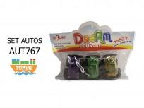 SET 3 AUTOS DK5638