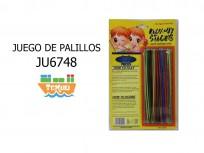 JUEGO UT825 PALILLOS