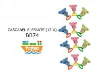SET X12 CASCABELES ELEFANTES