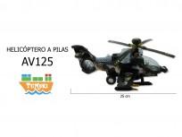 Helicóptero a pilas