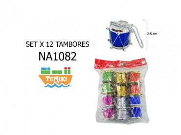 Set Tambores