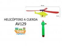 Helicóptero a cuerda