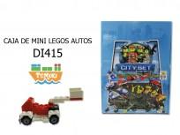 Caja de legos par armar autos