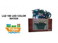 LUZ 100 LED COLOR