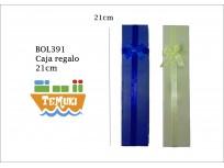 caja de regalo largo