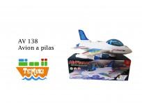 Avion a pilas