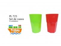 Set de vasos