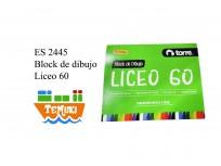 Block Dibujo Liceo 60