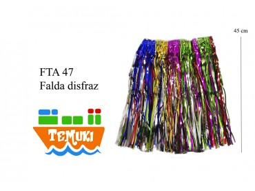 Disfraz falda 45 cm