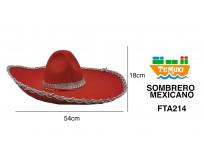 Gorro Mexicano Rojo