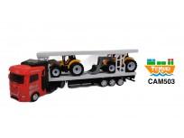 Camión con carga