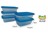 Set 5 Bowl Plastico