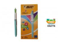 Lapiz Bic 4 colores