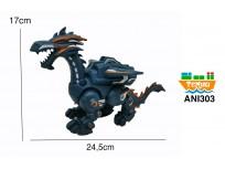 Dragón a pilas