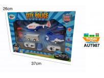 Set Vehículos policiales
